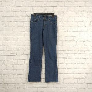 Nine West | Straight Leg Jeans Back Pockets w/ But